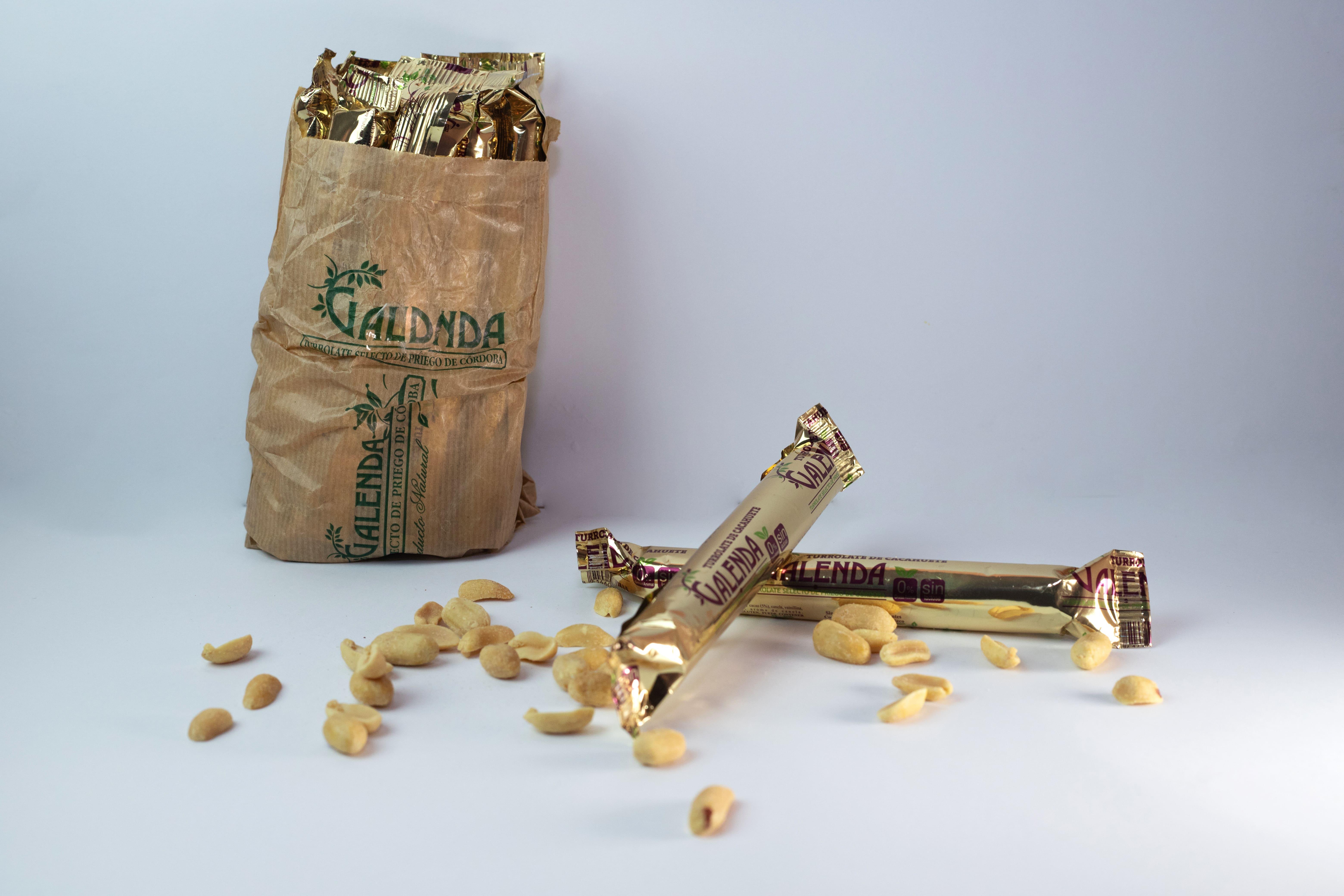 turrolate de cacahuete galenda